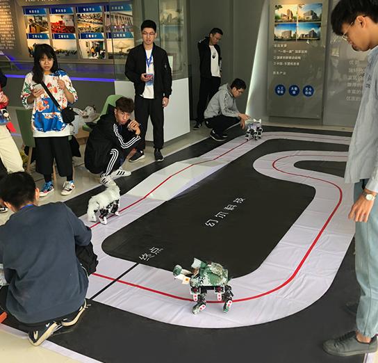 幻尔科技助力第一届广西大学生人工智能设计大赛圆满举行!