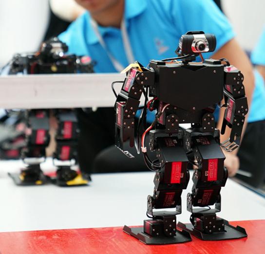"""幻尔科技助力""""2019国际自主智能机器人大赛"""",清华大学团队荣获特等奖!"""
