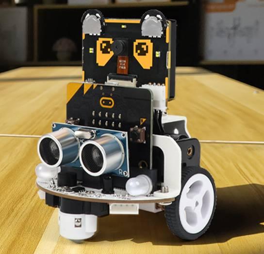 小幻熊AI视觉模块与micro:bit小车能碰撞出哪些火花?看这里!