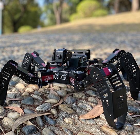 新年第二弹!新版SpiderPi智能视觉六足机器人全面升级!